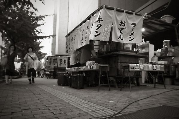 東京へ戻る前に過した時間