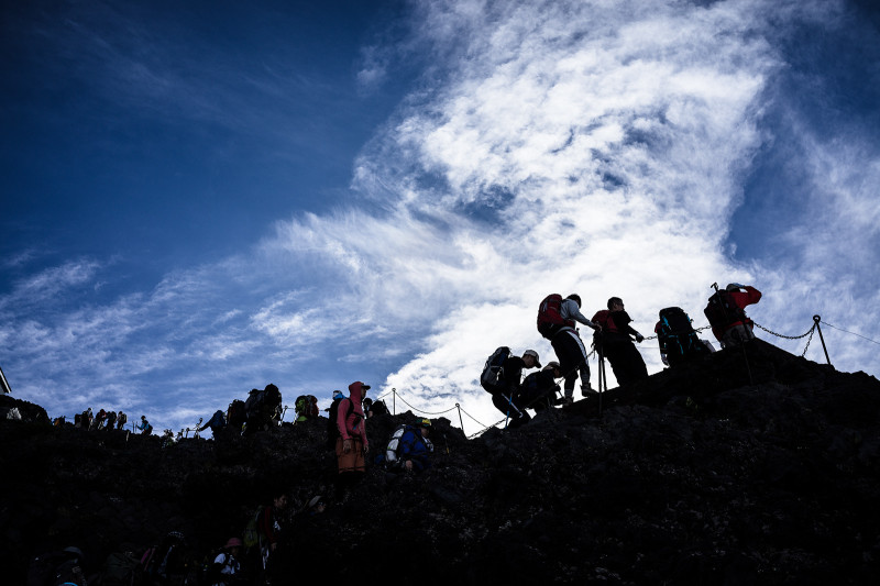 Mt.FUJI  1日目