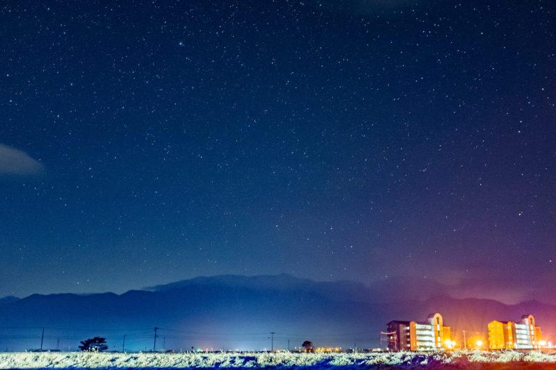 星空が綺麗だったという記憶