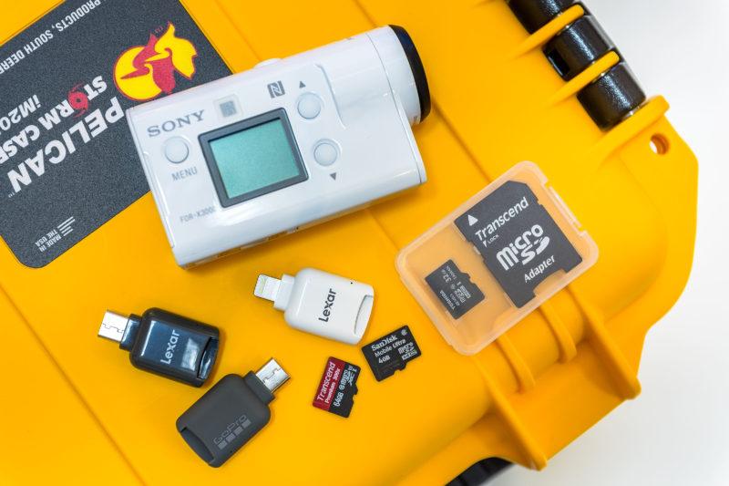 RAW素材のモバイル現像環境を検証中