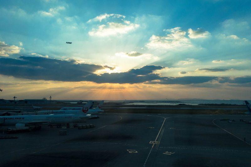 東京より1時間日没が遅い、それだけで得した気分だった