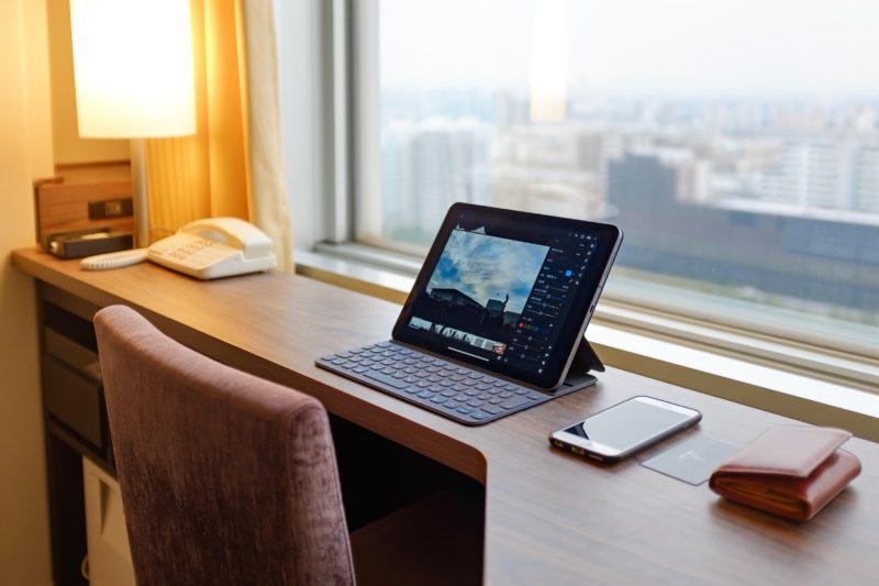幕張メッセからはiPad Proひとつで